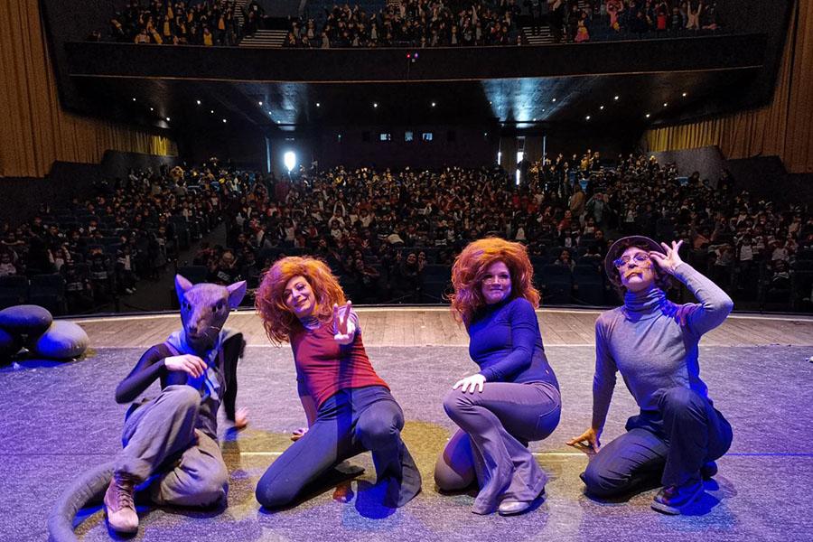 Niños llenaron el Teatro para disfrutar de Nerven & Zellen